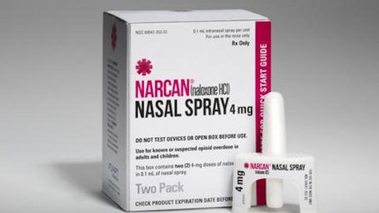 Walgreens to begin stocking opioid overdose-reversing drug Narcan