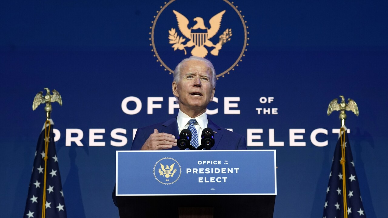 Biden begins work on stimulus plan with congressional Dems
