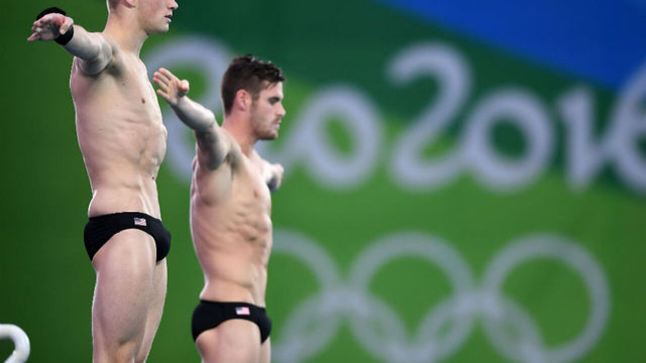 Purdue divers David Boudia and Steele Johnson take home silver for US in 10m synchro diving
