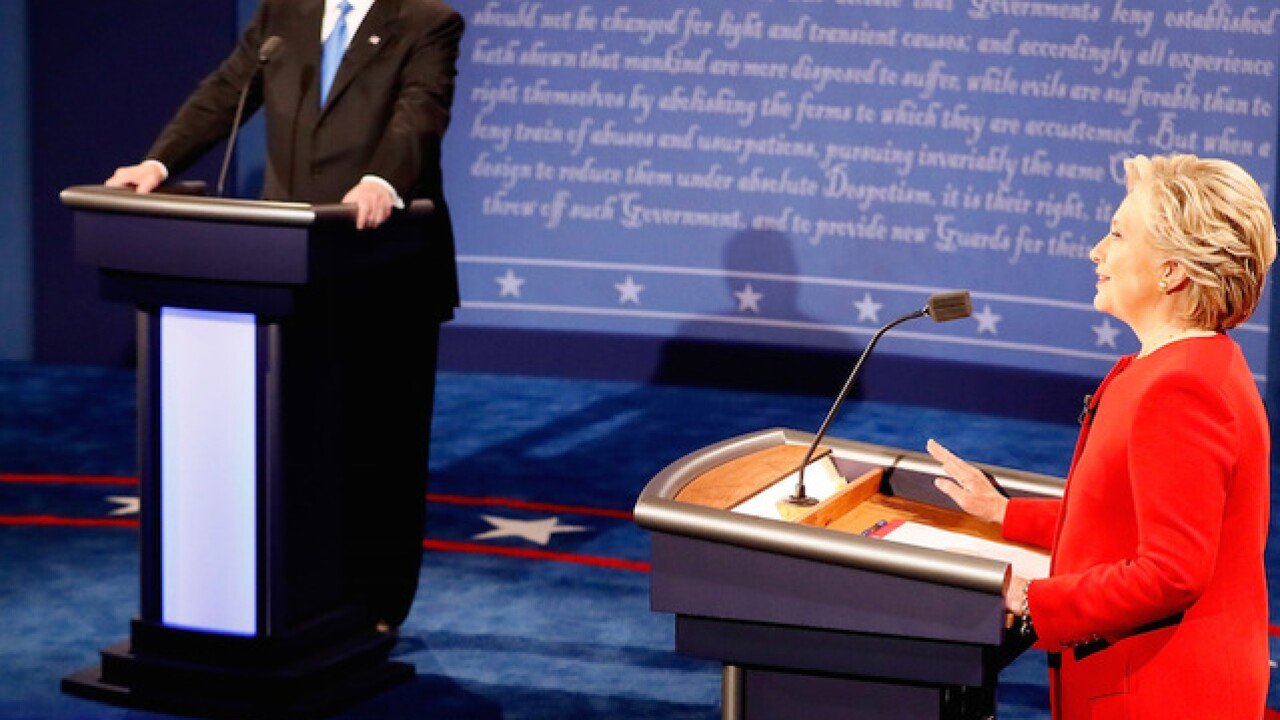 Monday's presidential candidates debate was most-watched ever
