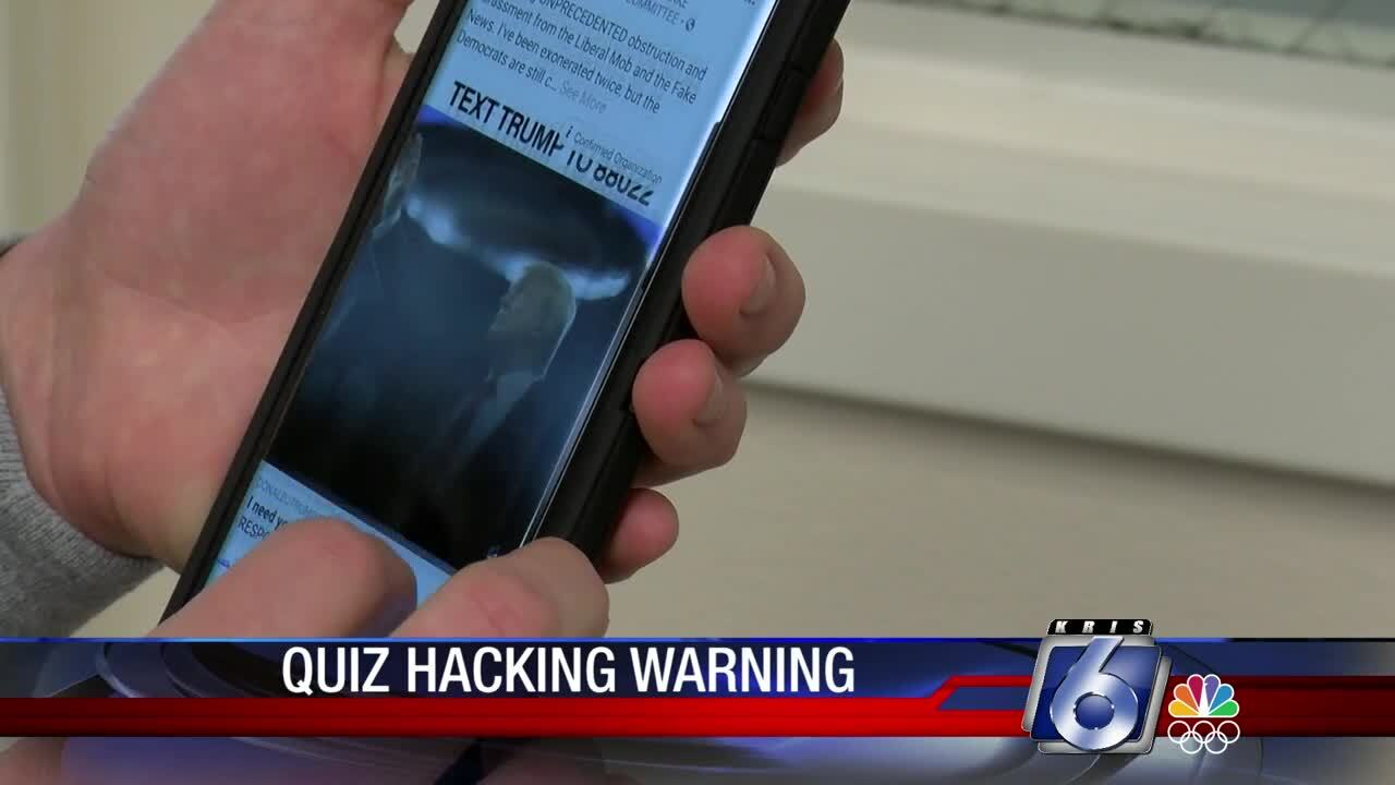 Online quizzes could leave you susceptible to cyber theft and much worse.