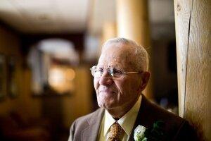 Ernest Hoffman, WWII veteran