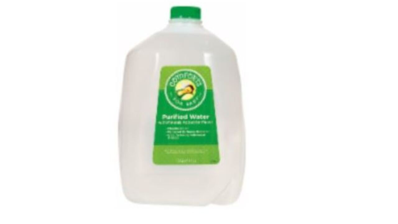 Kroger recalls purified drinking water for infants because of mold