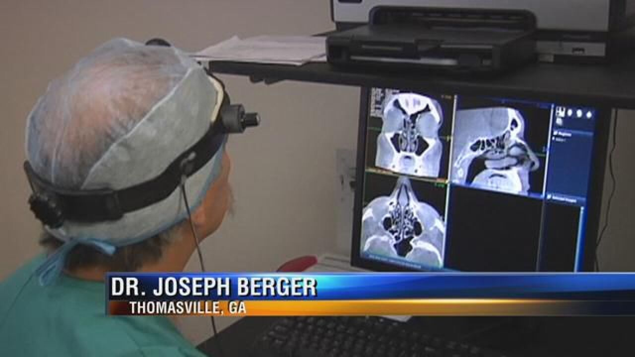 Thomasville Doctor Uses Balloons to treat Sinus Issues