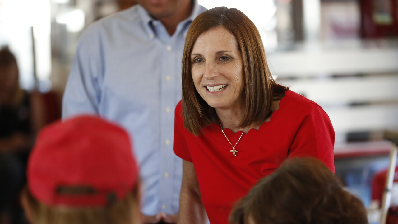 Election 2018 Senate Martha McSally Arizona