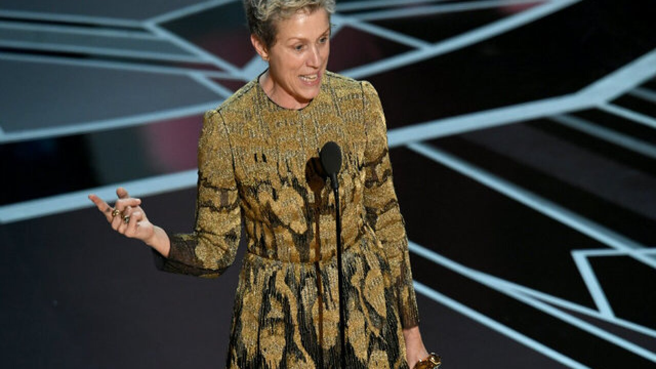 Man arrested, accused of stealing Frances McDormand's Oscar at Governors Ball