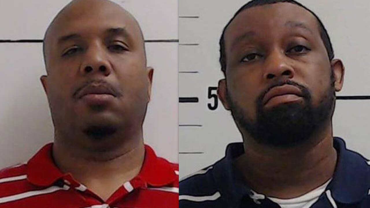2 men arrested after more than 350 credit cards and $63k in cash found during traffic stop in Surry