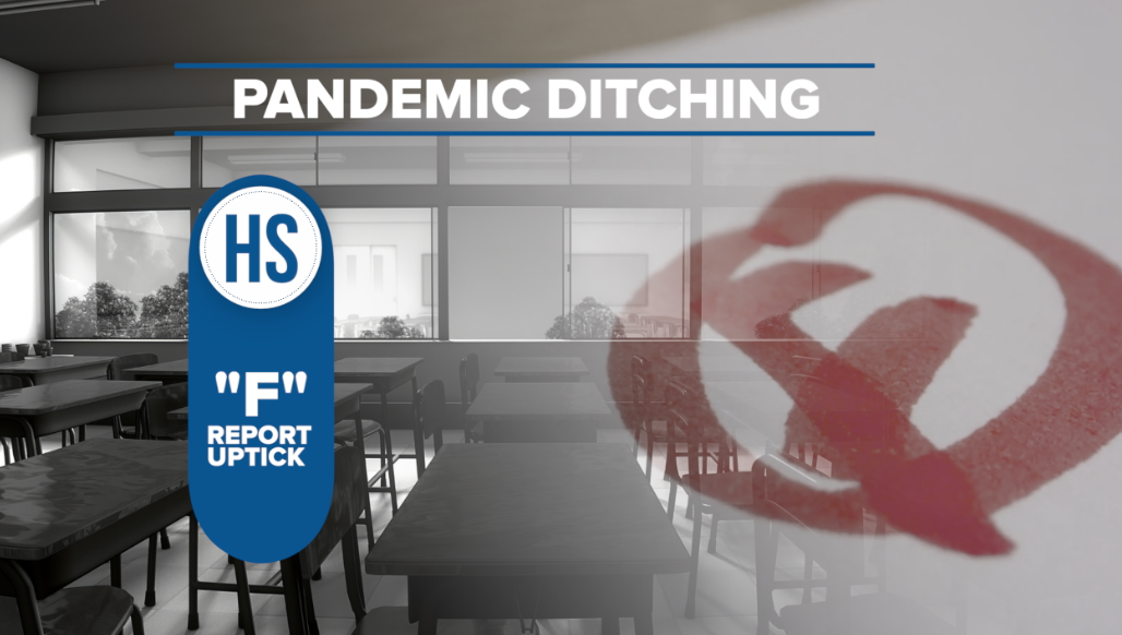 """""""F"""" Report uptick during pandemic"""