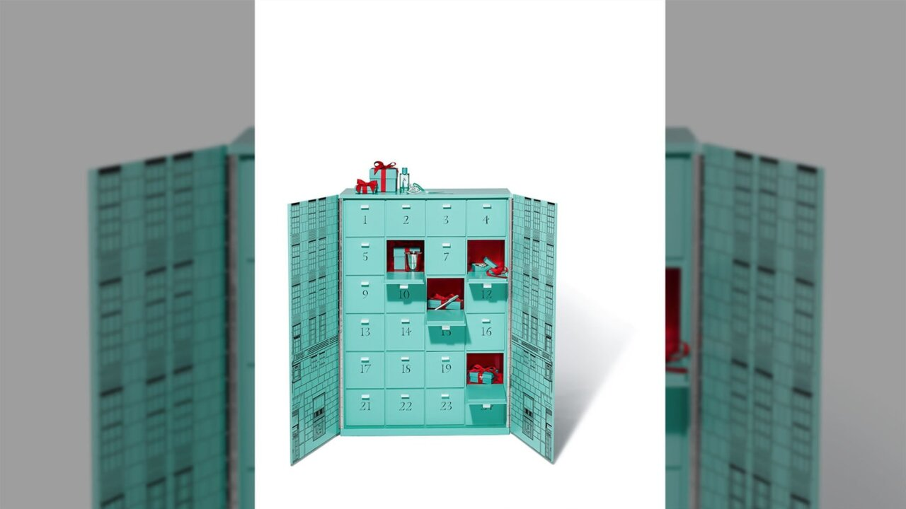 Tiffany's releases incredibly limited advent calendar that costs $112,000