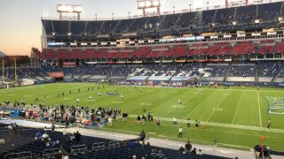 Titans play first game after COVID-19 shutdown, first game with fans