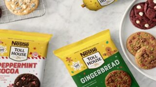 Nestlé Toll House Has Four New Holiday Cookie Flavors