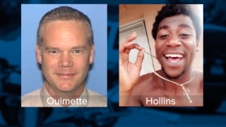 Edward Ouimette and Dalvin Hollins
