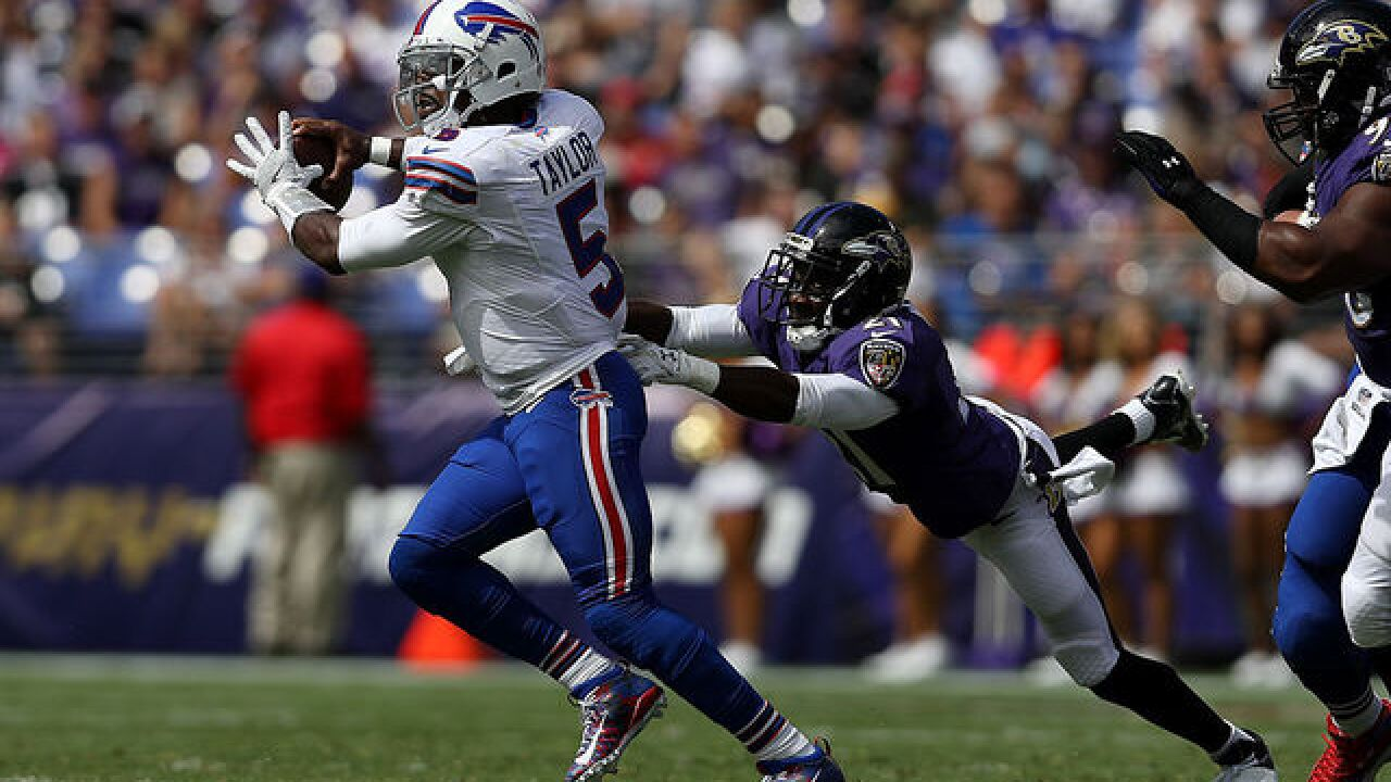 Bills offense sputters, fall to Ravens 13-7