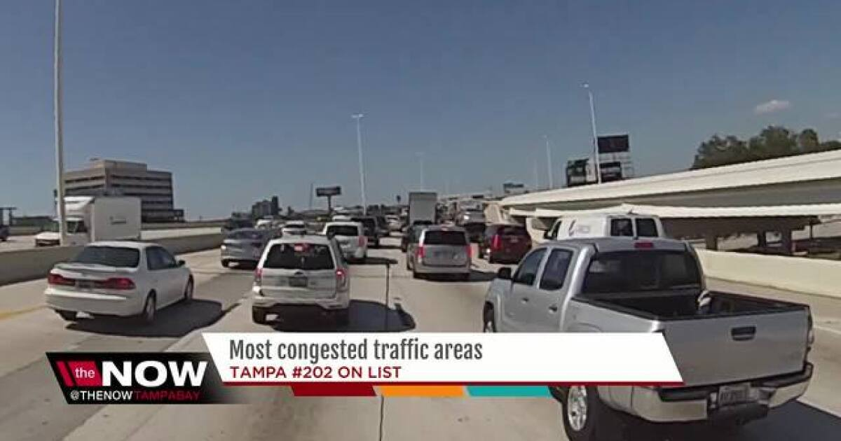 Traffic study ranks Los Angeles as world's most clogged city