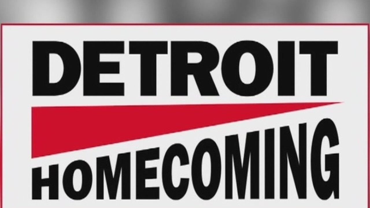 Details for third annual Detroit Homecoming to be announced Monday