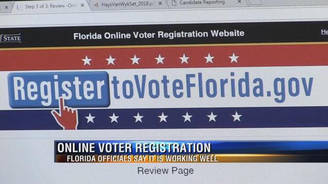 Leon County gets online voter registration system