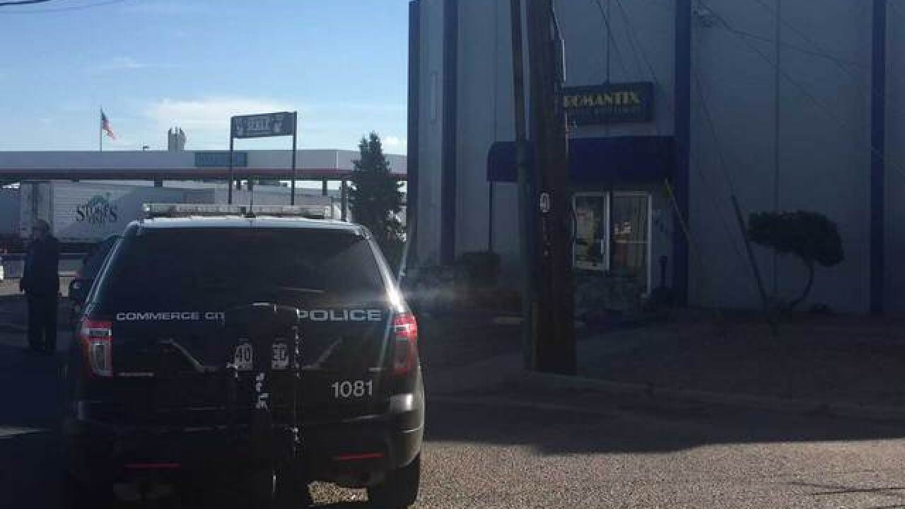 Clerk tied up, robbed at adult toy store Romantix in Commerce City