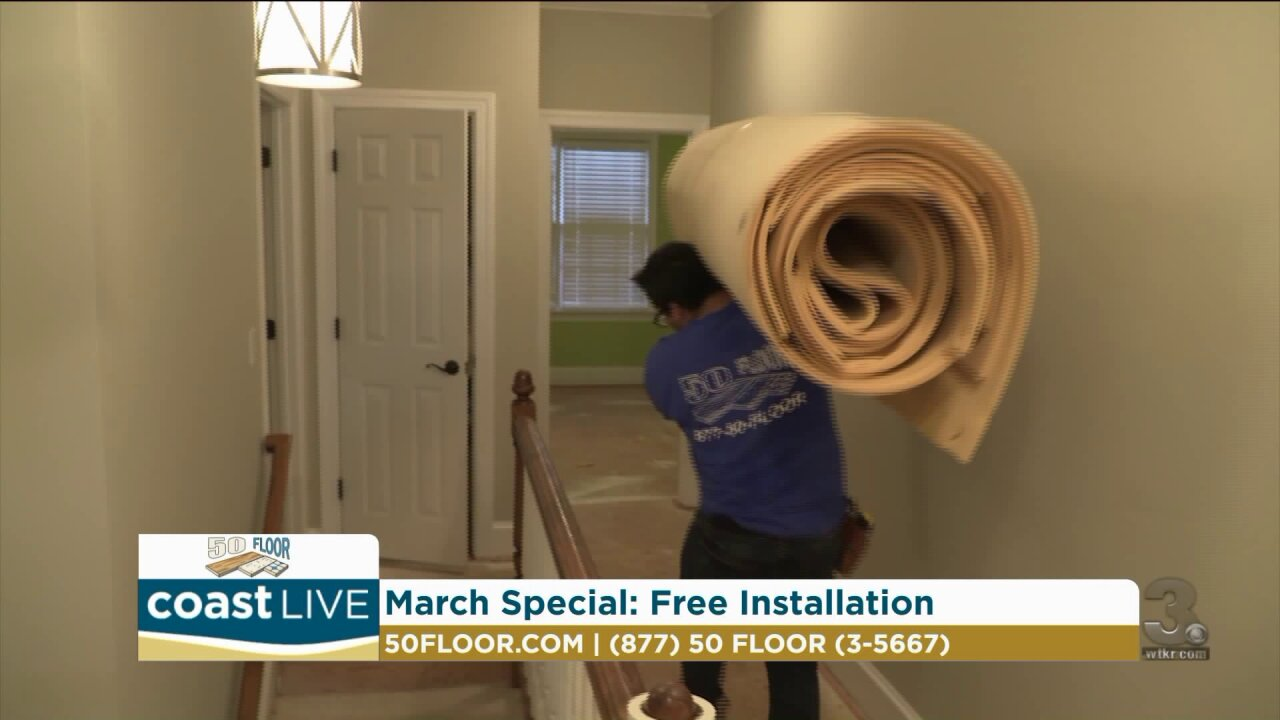 Clearing up space for your life and for new flooring on Coast Live