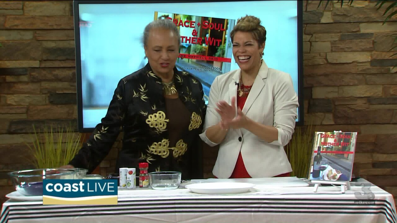 Daphne Maxwell Reid shows us how to make a dish from her new cookbook on CoastLive