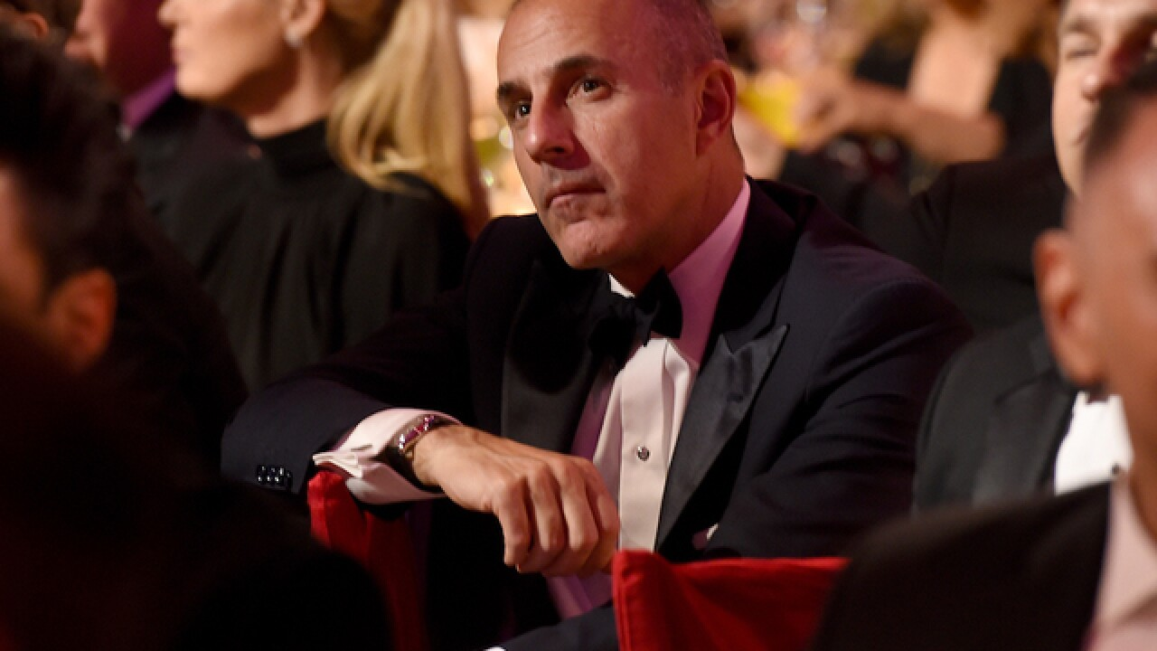 Matt Lauer apologizes: 'I am truly sorry'