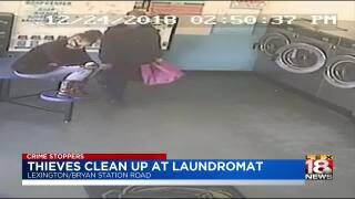 Crime Stoppers: Lexington Police Seek Pair In Theft At Laundromat