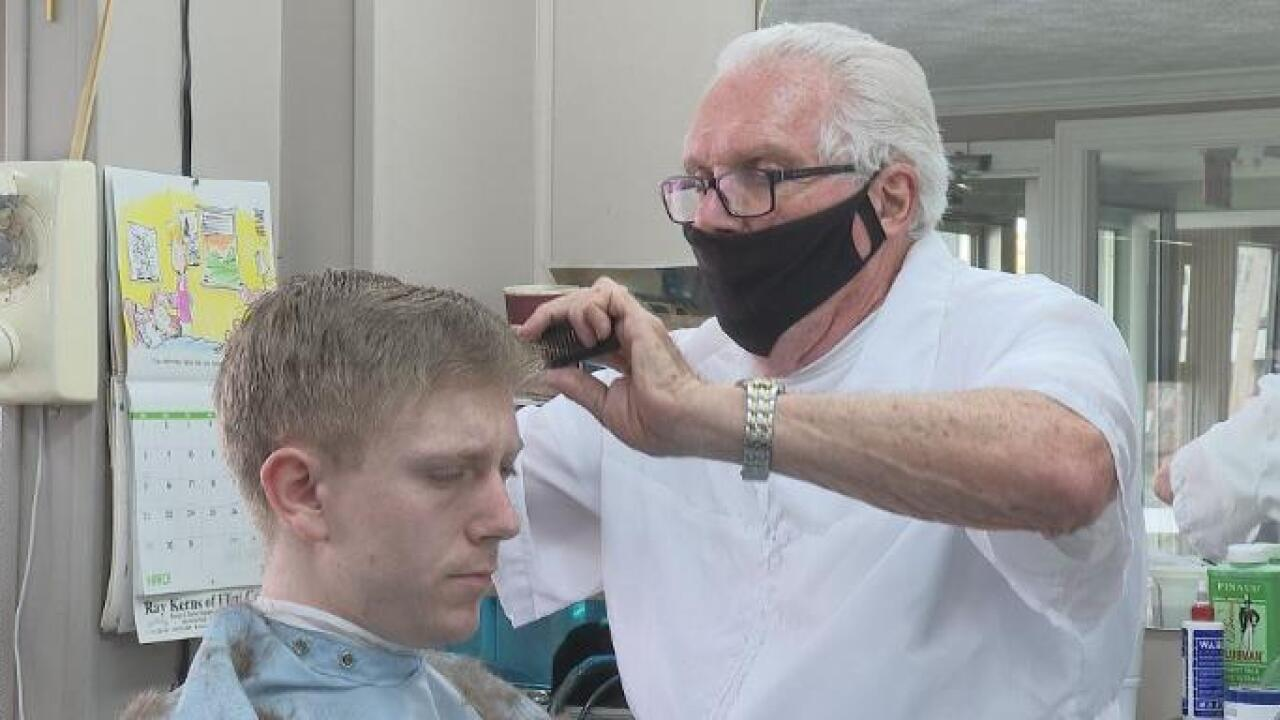 State suspends license of Owosso barber that reopened shop against governor's orders