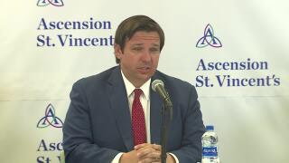 Gov. Ron DeSantis provides coronavirus update in Jacksonville, May 15, 2020