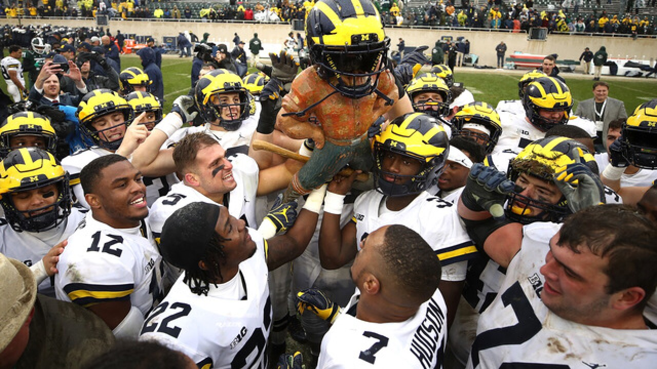Michigan Ranked No 5 In Ap Top 25 After Win Over Michigan State