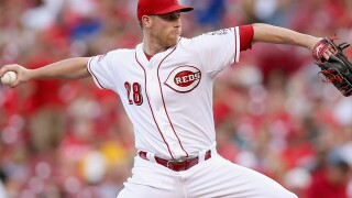 Reds expect to be missing Anthony DeSclafani on Opening Day