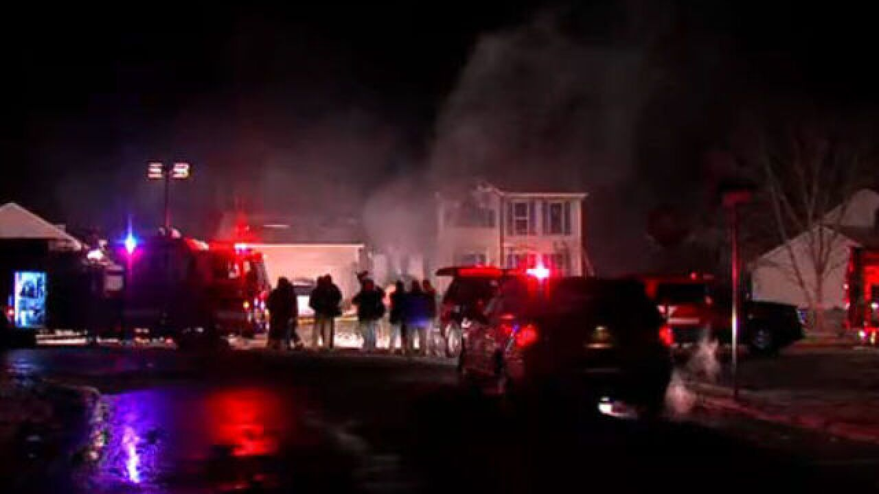 Family of four dead in house fire, explosion