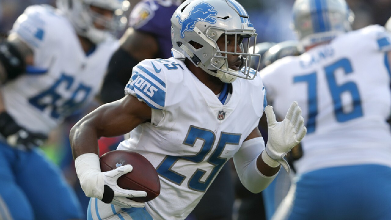 Lions' Riddick welcomes increased RB competition