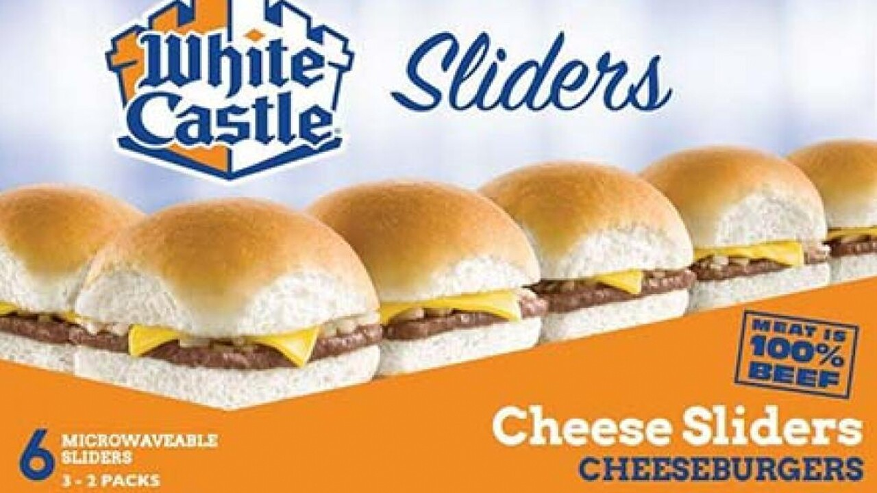 White Castle recalls frozen sliders for possible listeria