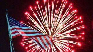 Tehachapi fireworks