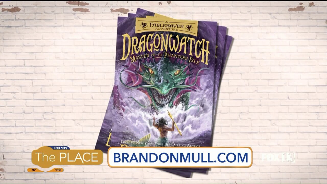 Brandon Mull releases details about book release launchevent