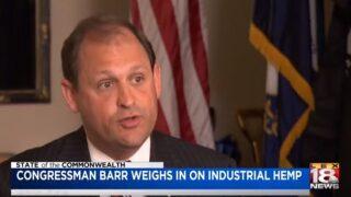 'SOTC': Rep. Barr Looks At Future Of Industrial Hemp
