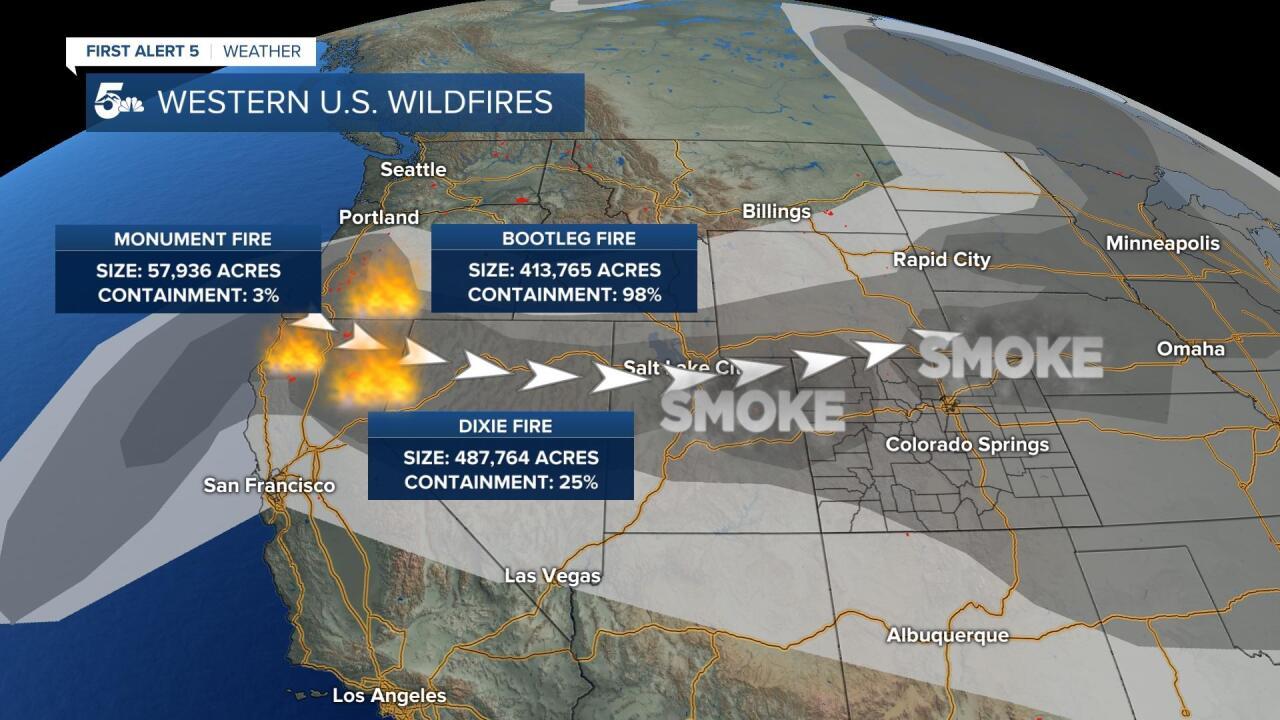Western U.S. wildfires