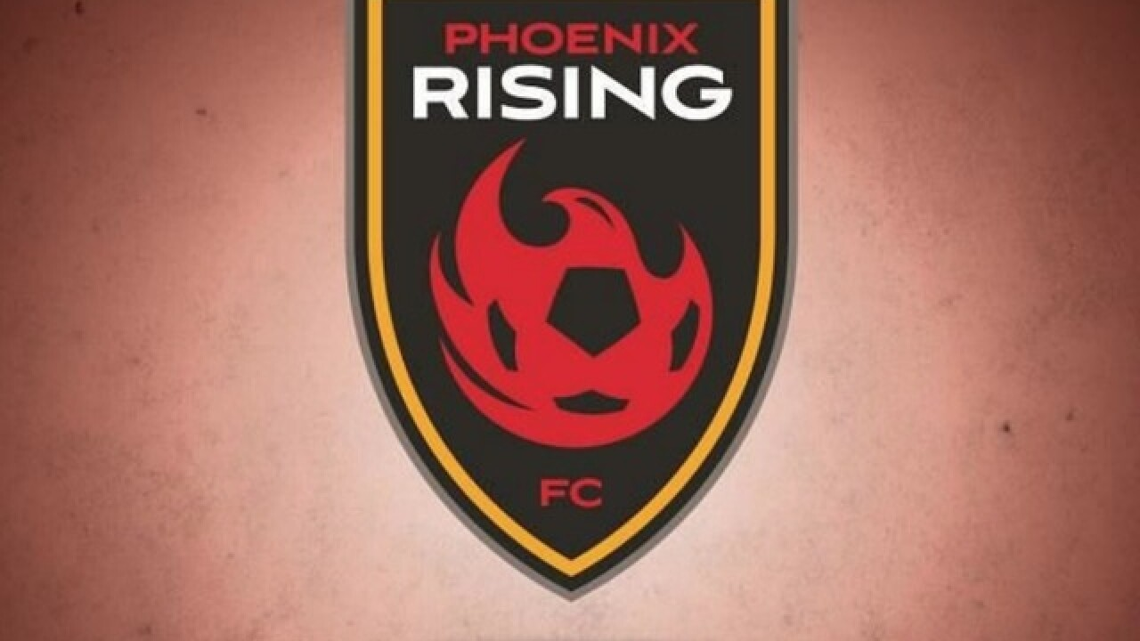 Phoenix Rising wins 4th straight, moves into 1st-place tie in Western Conference