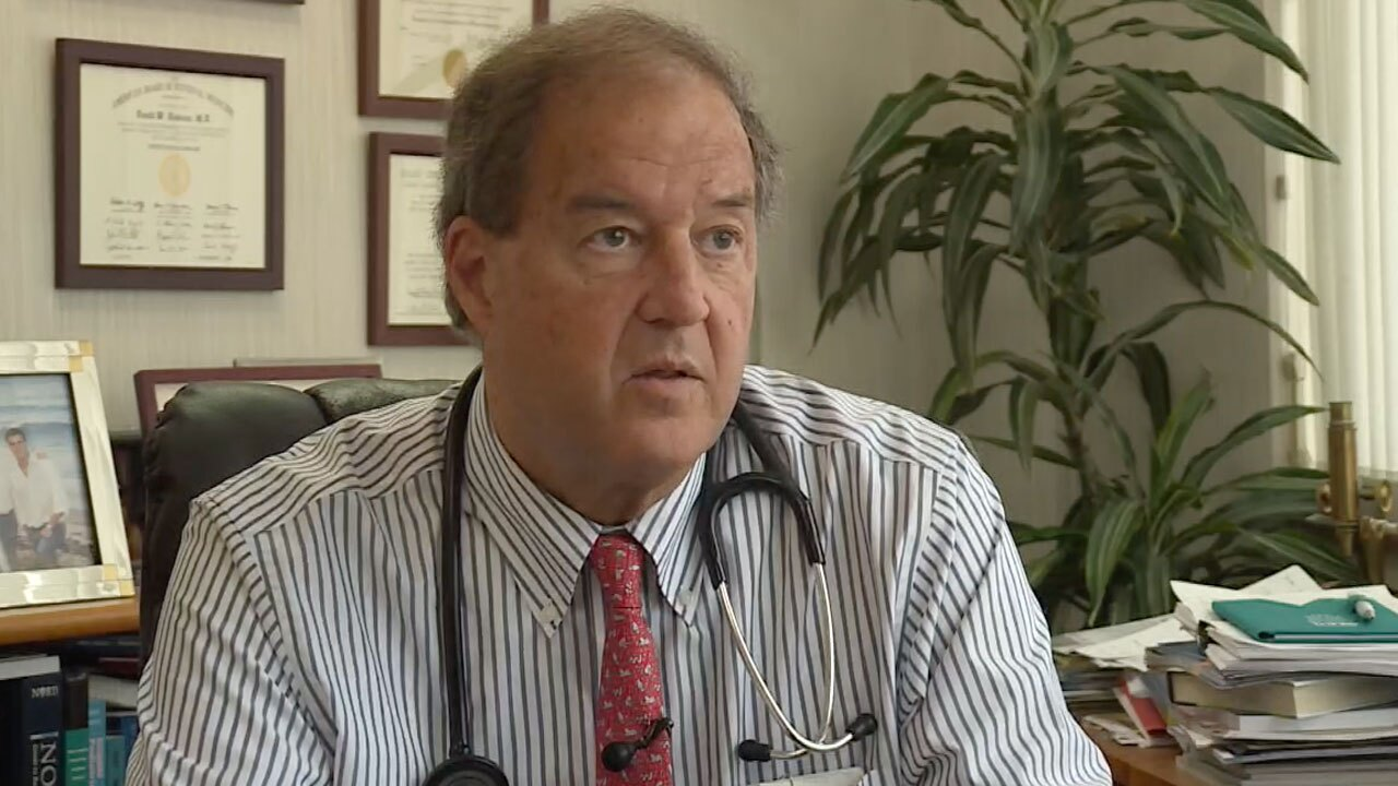 Dr. David Dodson, infectious disease specialist at Good Samaritan Hospital