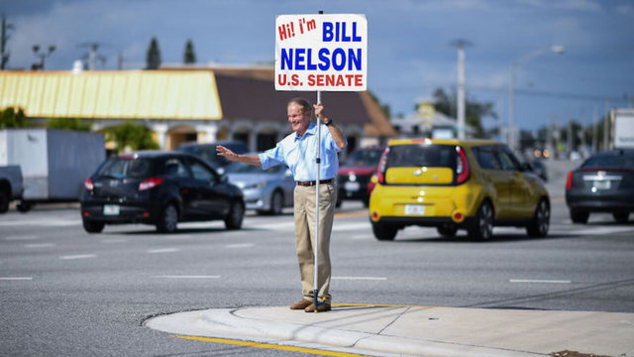 Nelson calls for recount in Florida Senate race