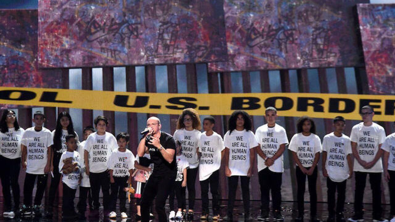 Watch: VMA performance spotlights immigrants