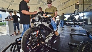 Harley-Davidson gives sneak peek of electric motorcycle prototype