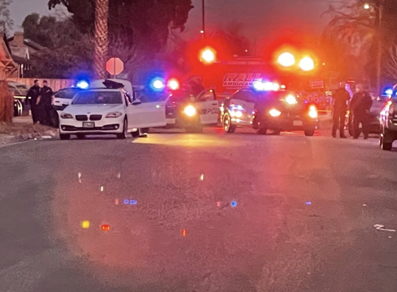 Bakersfield Police Department homicide detectives called out to 28th & Q St.