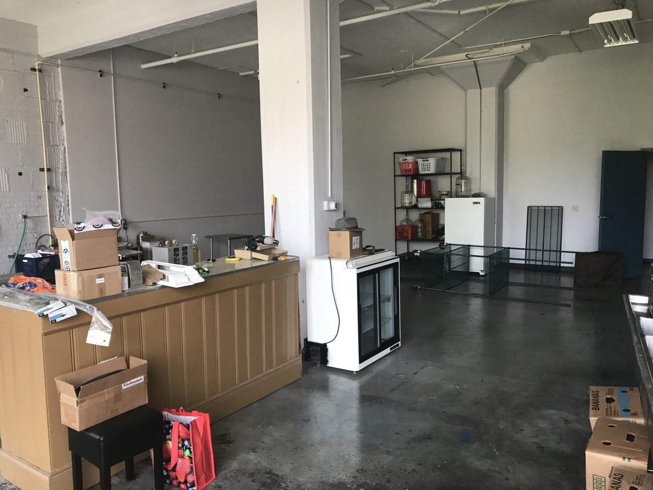 This space at 2612 S. Greely St. in Milwaukee will turn into a production facility and eventually a tasting room.