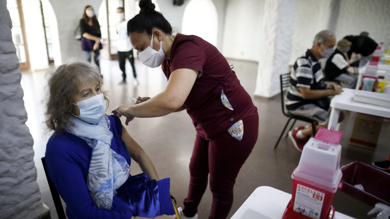 Virus Outbreak Argentina Waiting in Isolation