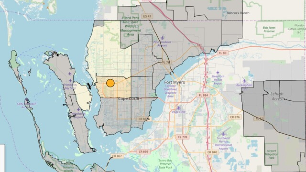 Matlacha And Southeast Cape Coral Experiencing Power Outages