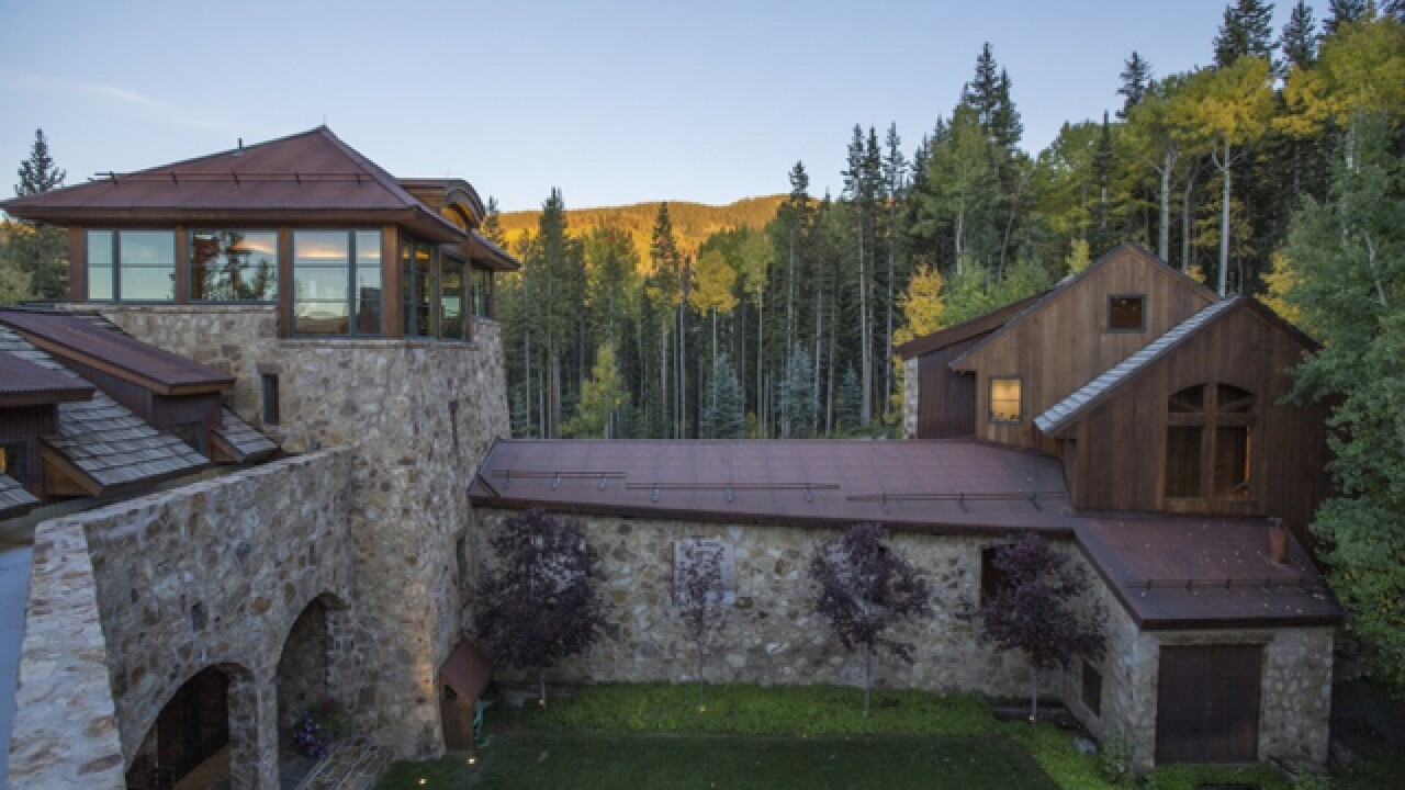 GALLERY: Inside Oprah's $14M Telluride home