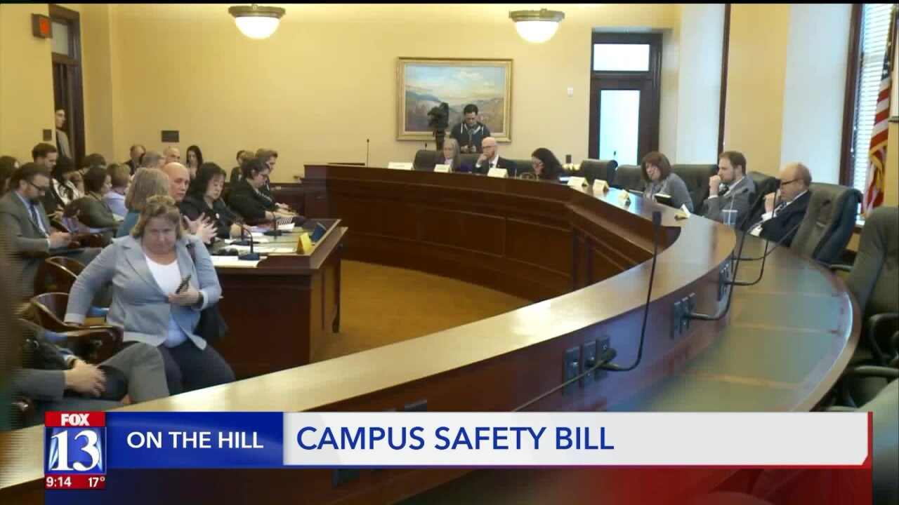 Senate bill for campus safety inspired by Lauren McCluskey