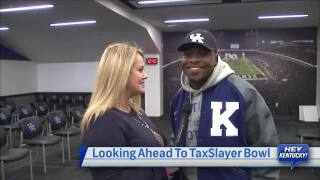 Mary Jo Talks Tax Slayer Bowl with the Wildcats: Monday, December 5th, 2016