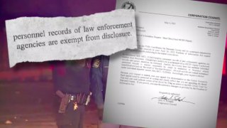 Secret police records