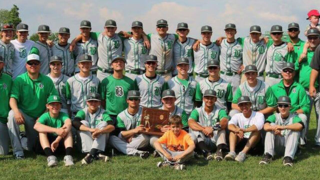 Badin loses state title game in extra innings